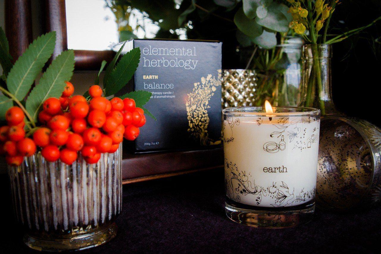 Elemental Herbology耶誕限量大地氣息香氛蠟燭,200g售價1,...
