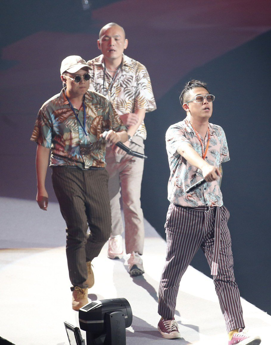 玖壹壹8日在台北小巨蛋開唱。記者許正宏/攝影