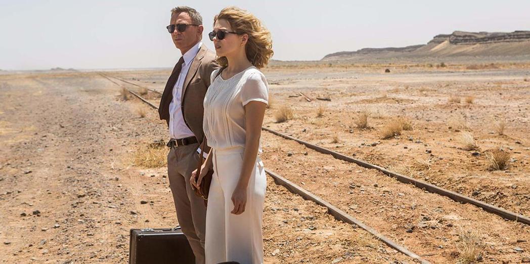 「007:惡魔四伏」讓龐德在心理醫師梅德琳身上重新找到戀愛的勇氣。圖/摘自imd...
