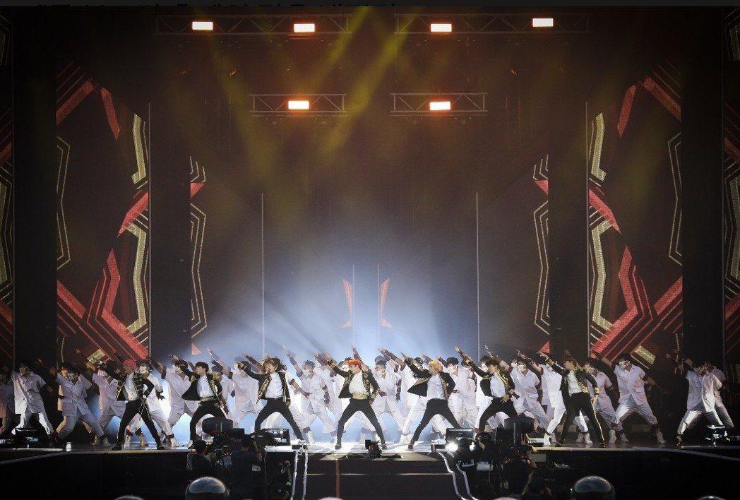 防彈少年團世界巡演從首爾唱進桃園。圖/摘自BigHit
