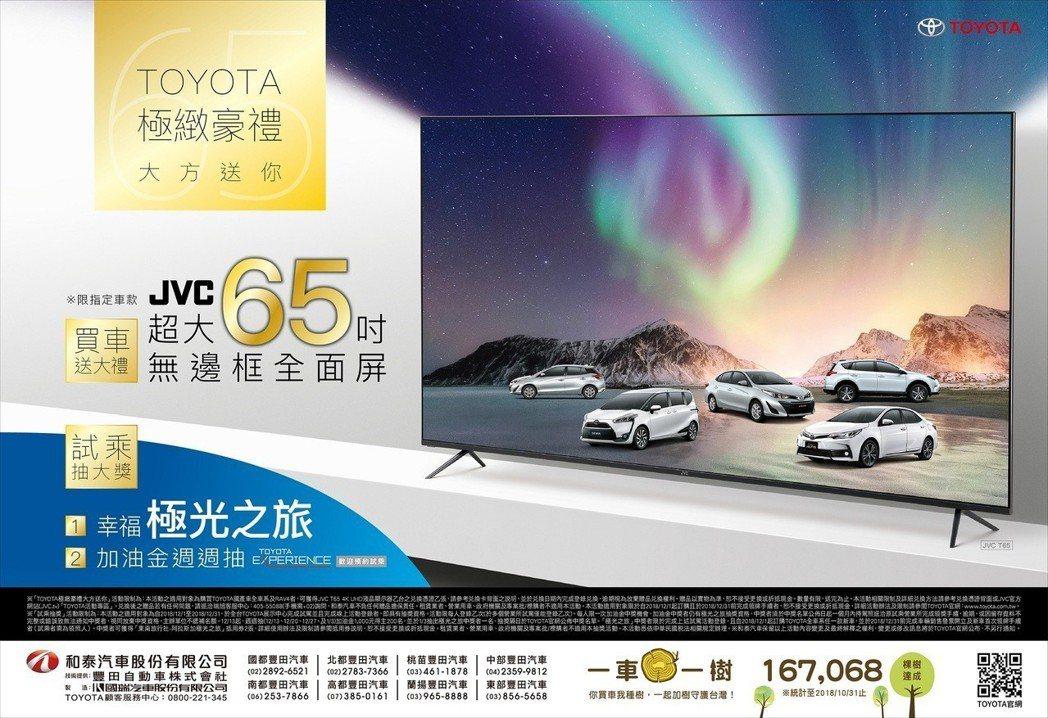 TOYOTA台灣總代理和泰汽車於12月推出「TOYOTA極緻豪禮 大方送你」優惠...