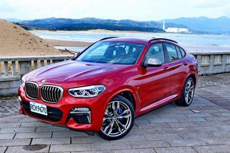 非典型運動休旅 BMW X4 M40i試駕