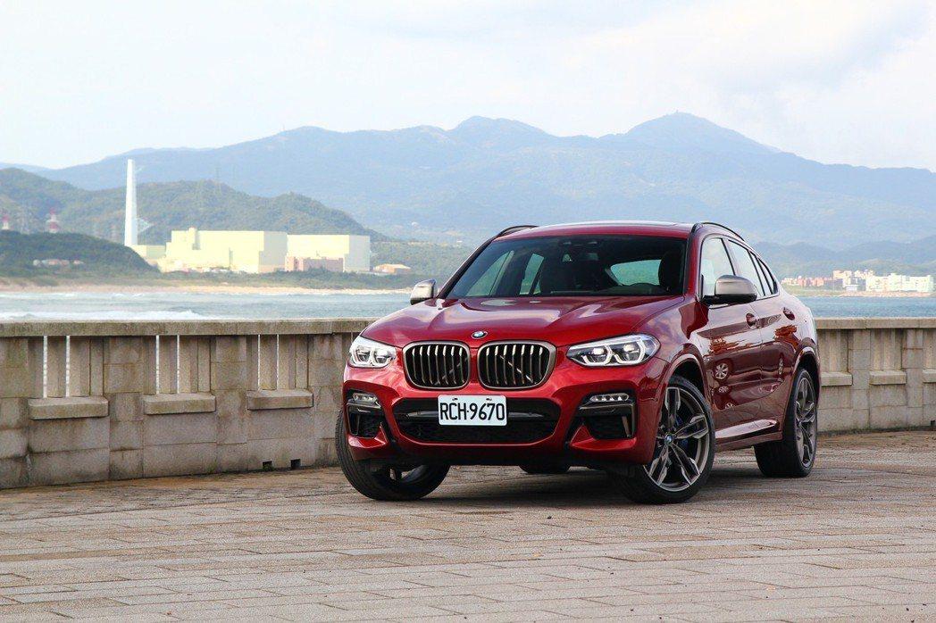 BMW X4 M40i。 記者張振群/攝影