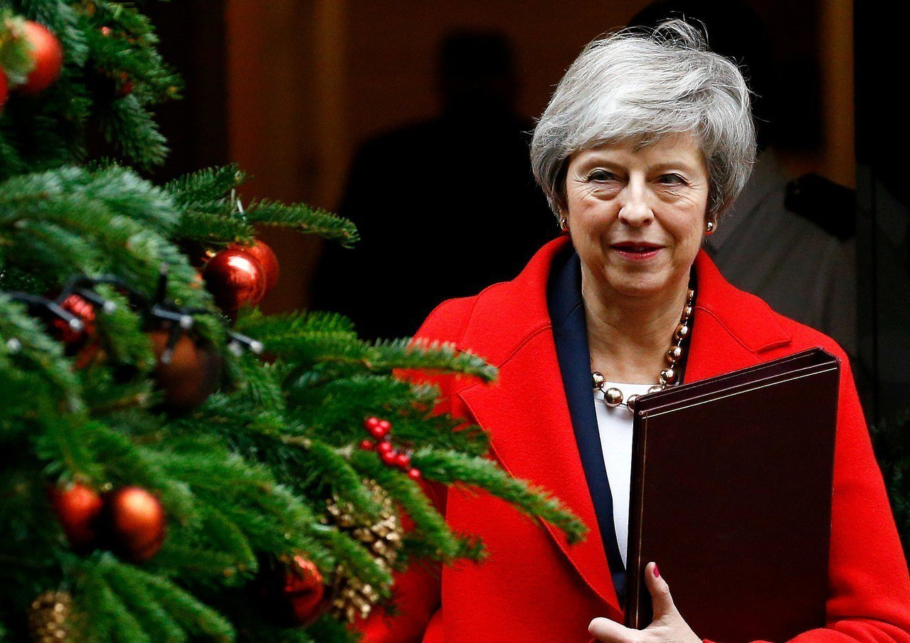 星期泰晤士報報導,英國首相梅伊預料將延後脫歐協議在國會的表決。路透