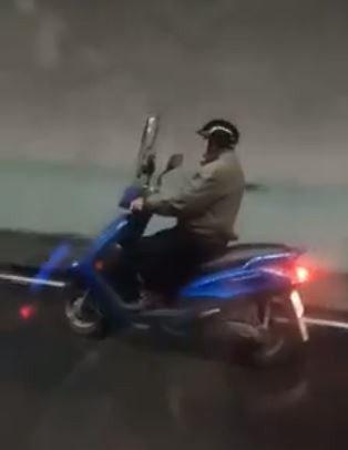 上月28日一名78歲的劉姓老翁要從頭城路段回冬山時誤闖雪山隧道,時速還破90公里...