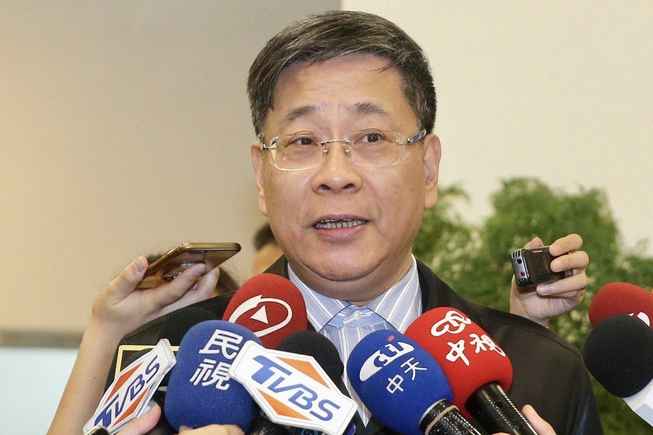 上海市台辦主任李文輝。聯合報系資料照