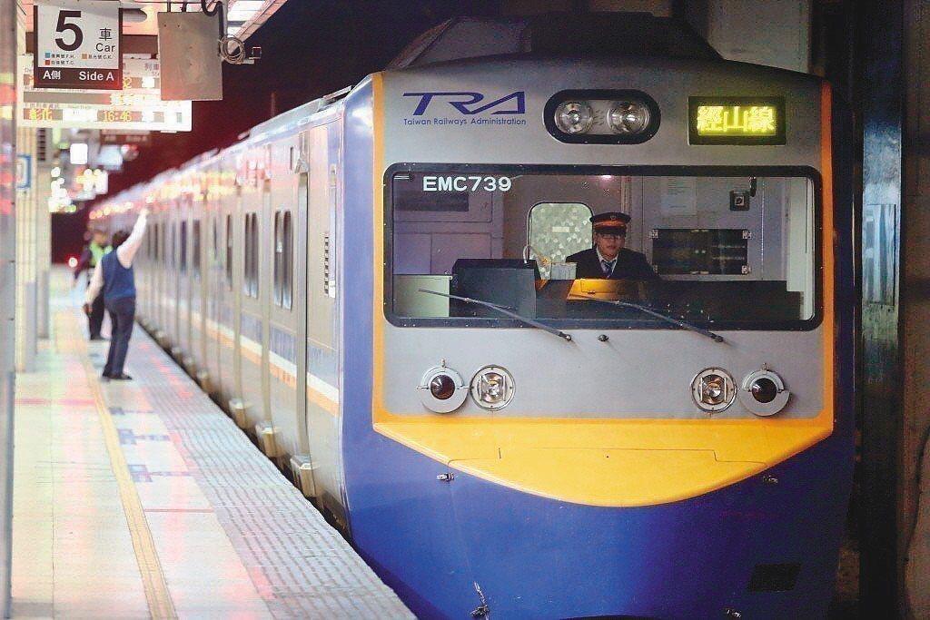 松山道班巡路人員被工程車撞擊身亡。圖為示意圖,非當事列車。聯合報系資料照片
