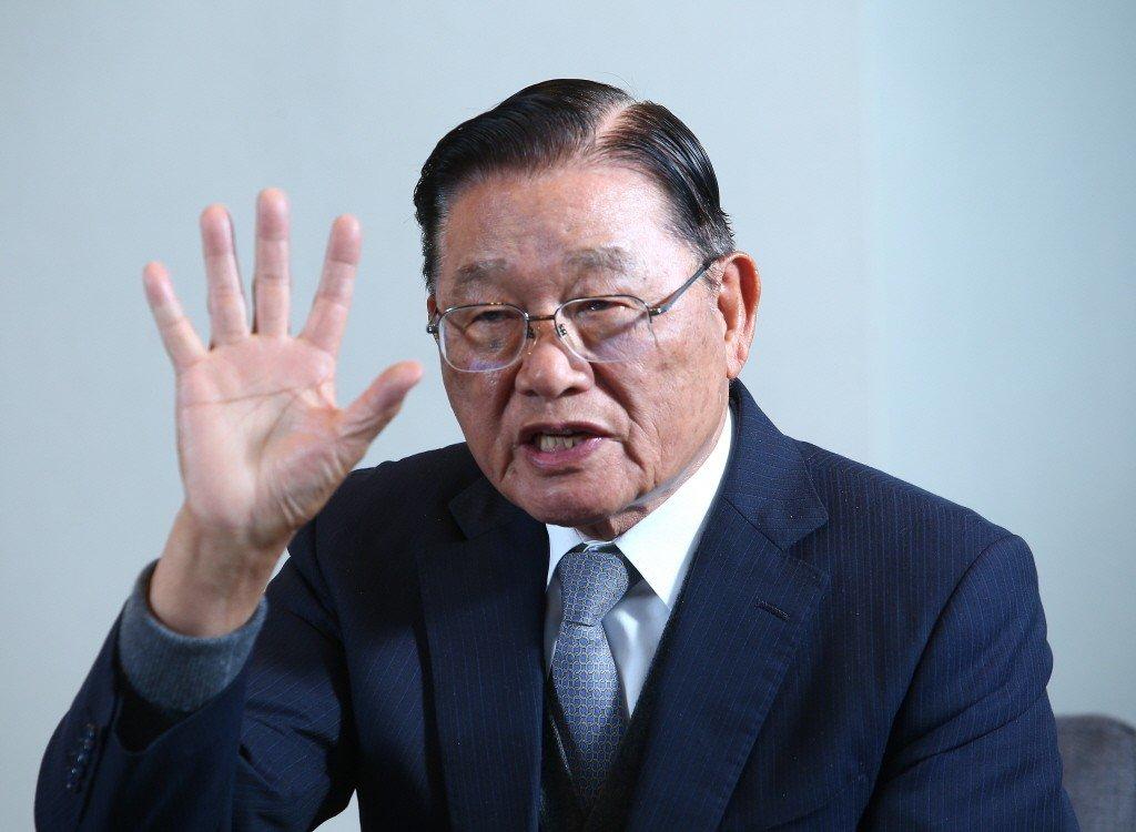 海基會前董事長江丙坤。 聯合報系資料照片╱記者陳柏亨攝影