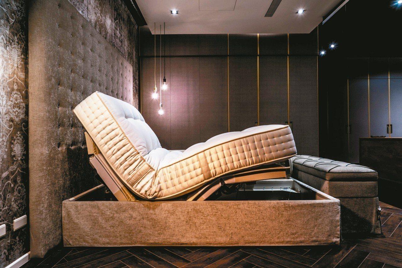 詩蘭慕頂級電動床組Change XL售253.6萬元,每一張床墊需要工藝師傅10...