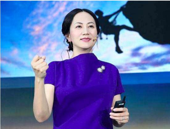 華為技術公司財務長孟晚舟。環球時報微博照片