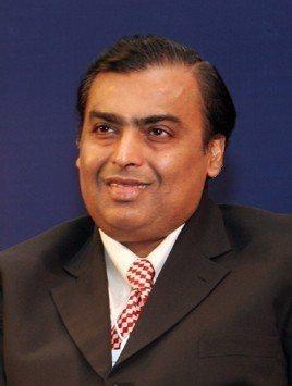 印度首富穆克什。圖取自維基百科