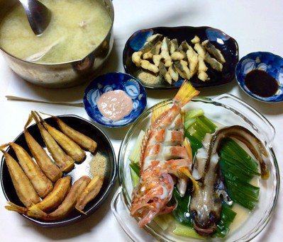 各種魚料理一次全滿足。圖/鄭雅嬬提供