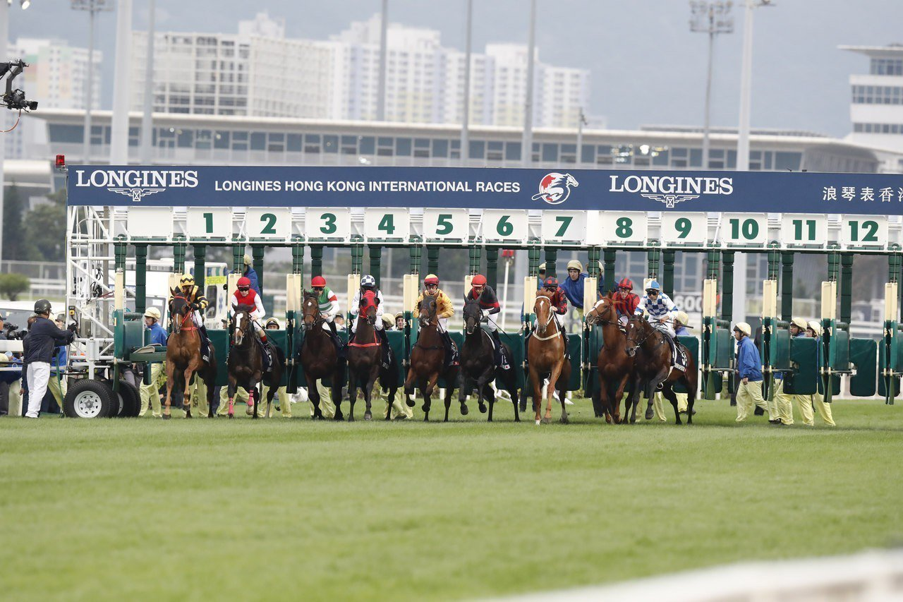 「浪琴表香港國際賽事」雲集全球最頂尖的騎師及賽駒。圖/Longines提供