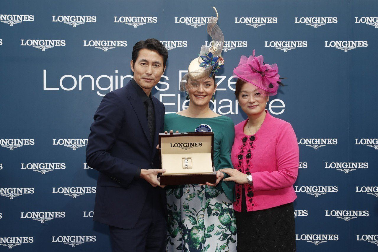 鄭雨盛親自頒贈「Longines Prize for Elegance」浪琴表優...