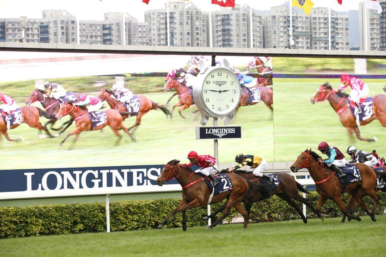 浪琴表自2012年開始擔任「浪琴表香港國際賽事」的冠名合作伙伴及官方計時。圖/L...
