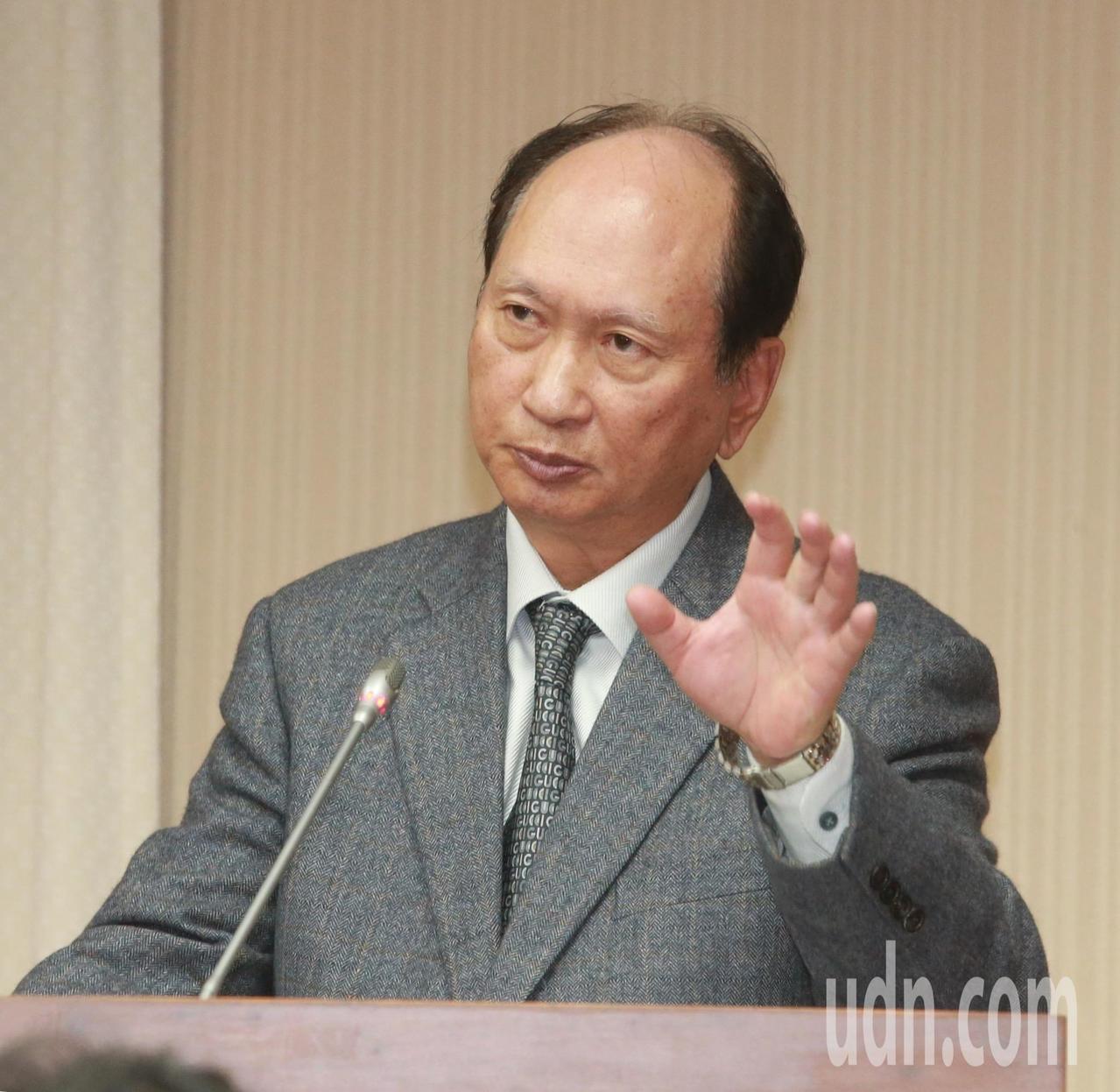 公共工程委員會主委吳澤成。記者黃義書/攝影