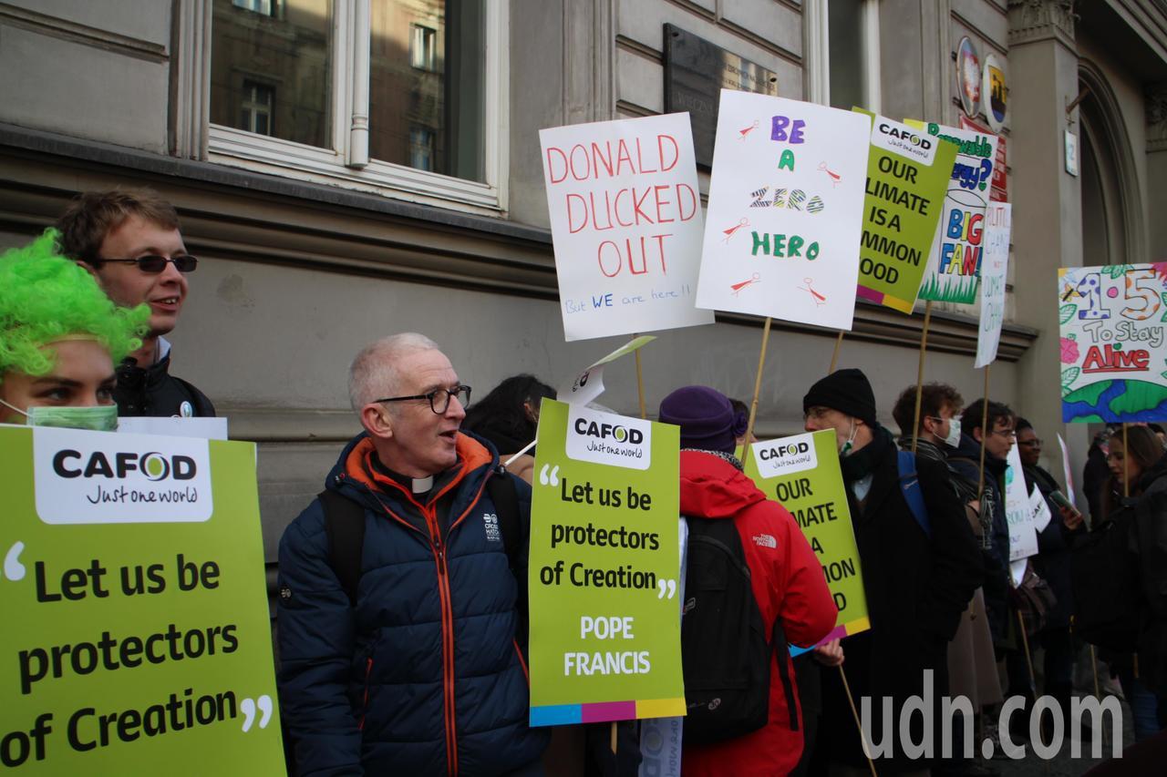 聯合國氣候峰會今年在波蘭卡托維治舉辦,但傳出不少非政府組織人士遭到拒絕入境。圖為...