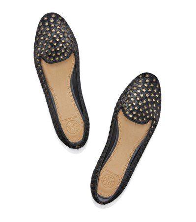 繁星馬毛樂福鞋,14,900元。圖/Tory Burch提供