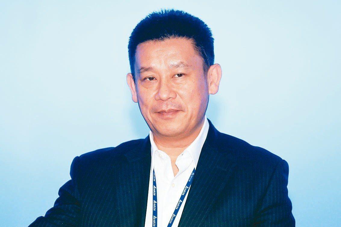 台達電子執行長鄭平。 圖/聯合報系資料照片