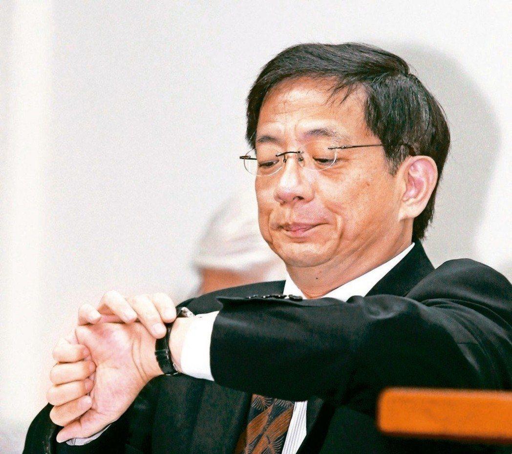 台大新任校長管中閔。聯合報系資料照