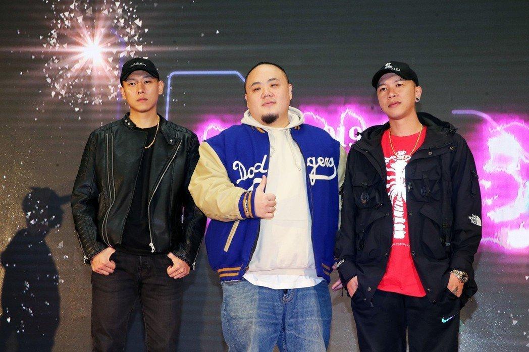 頑童MJ116出席臺北最High新年城-2019跨年晚會卡司公布記者會。記者徐兆...