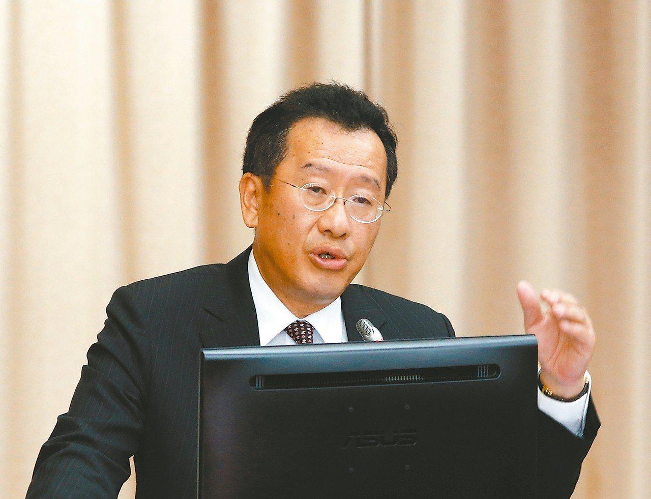 金管會主委顧立雄 記者鄭超文/攝影