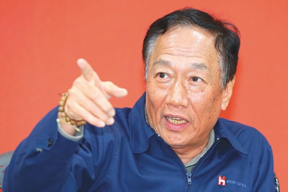 鴻海董事長郭台銘。 圖/聯合報系資料照