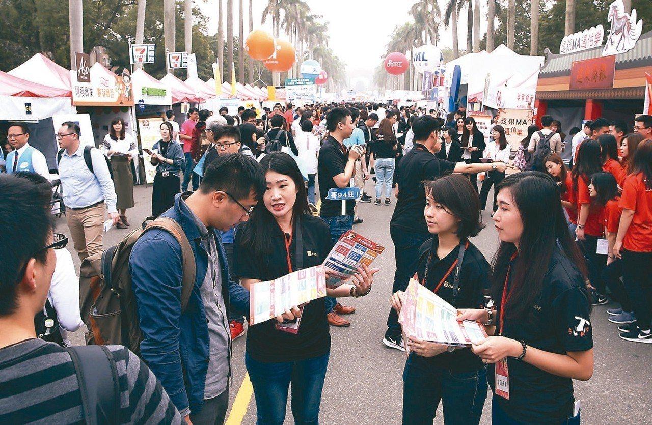今天公布全球及台灣明年第一季就業展望調查,台灣第一季就業展望為21%,較去年同期...