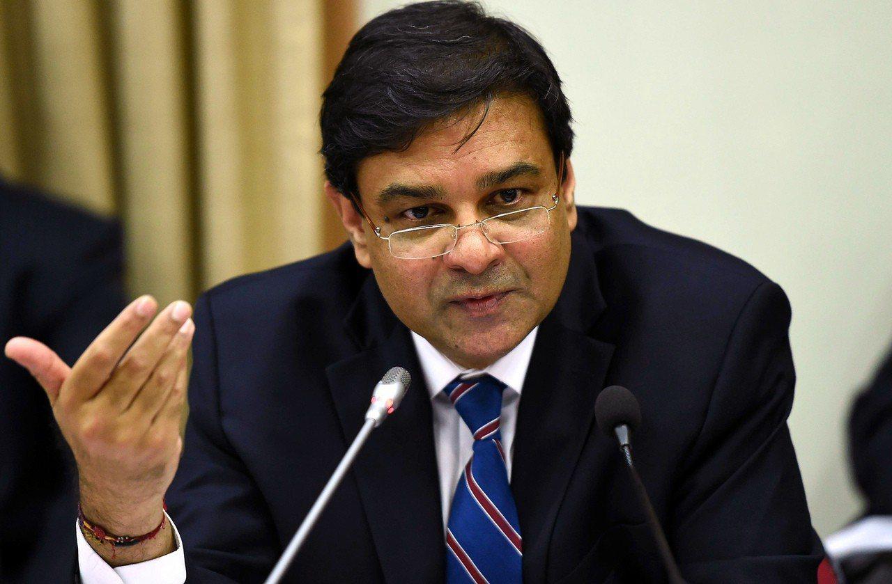 印度儲備銀行總裁巴特爾(Urjit Patel)。 歐新社