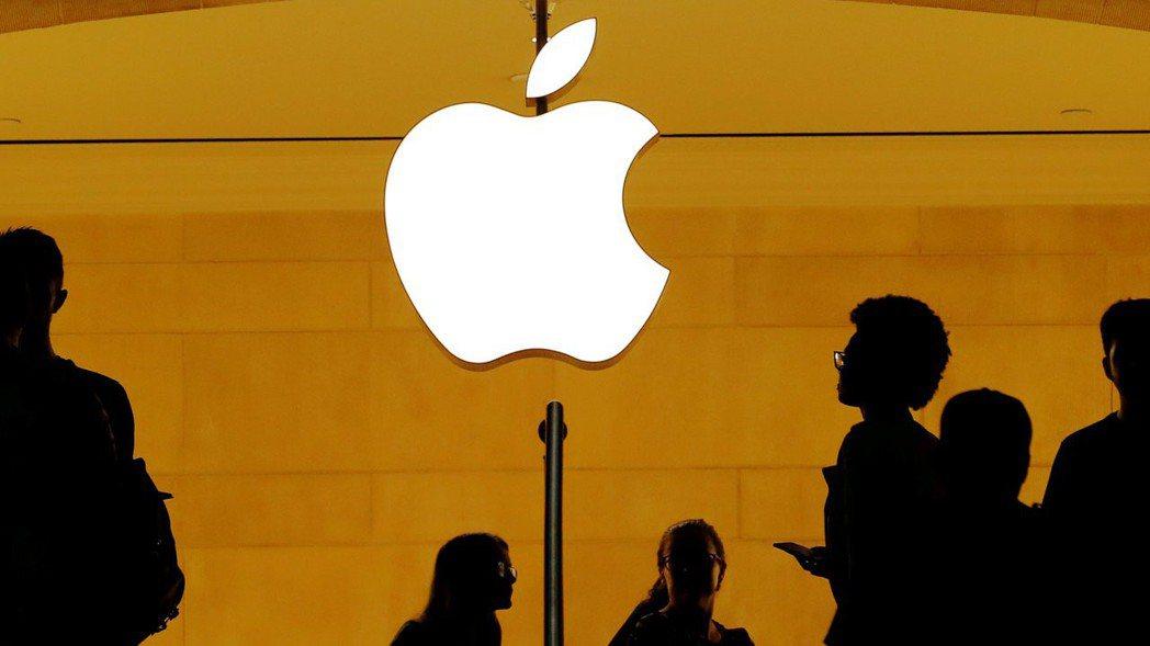 蘋果iPhone雖遭禁售,但影響範圍有限,股價周一反彈收高。  路透