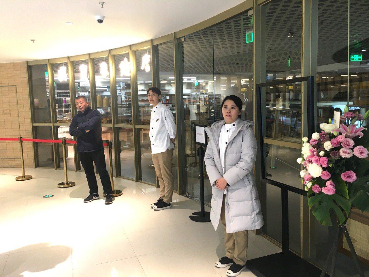 吳寶春大陸首家麵包店11日下午傳出突然「暫停營業」的消息。(特派記者林則宏/攝影...