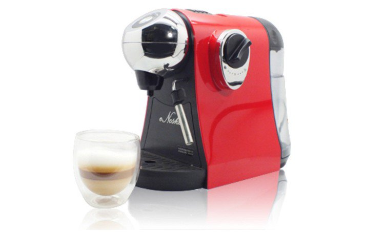 ihergo愛合購主打eNoska膠囊咖啡機,團購獨家最低價2,399元起,買就...