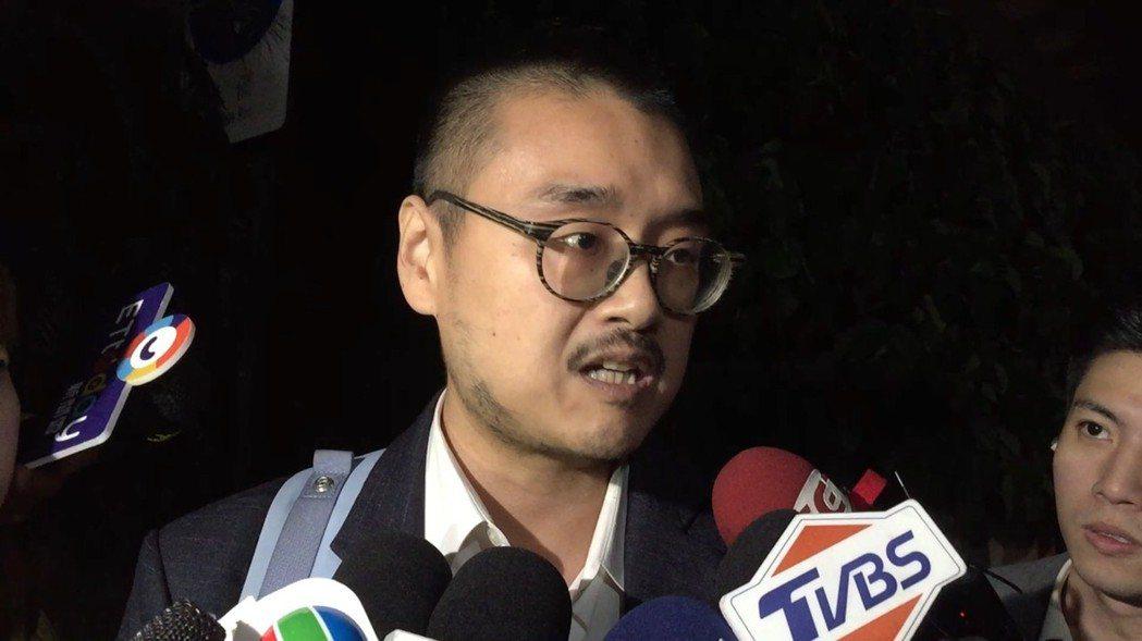 孫家委託律師郭上維。記者陳慧貞/攝影