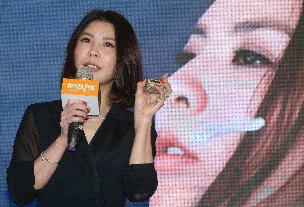 許茹芸即將在明年4月20日在台北小巨蛋舉行「綻放的綻放的綻放」演唱會。記者林俊良