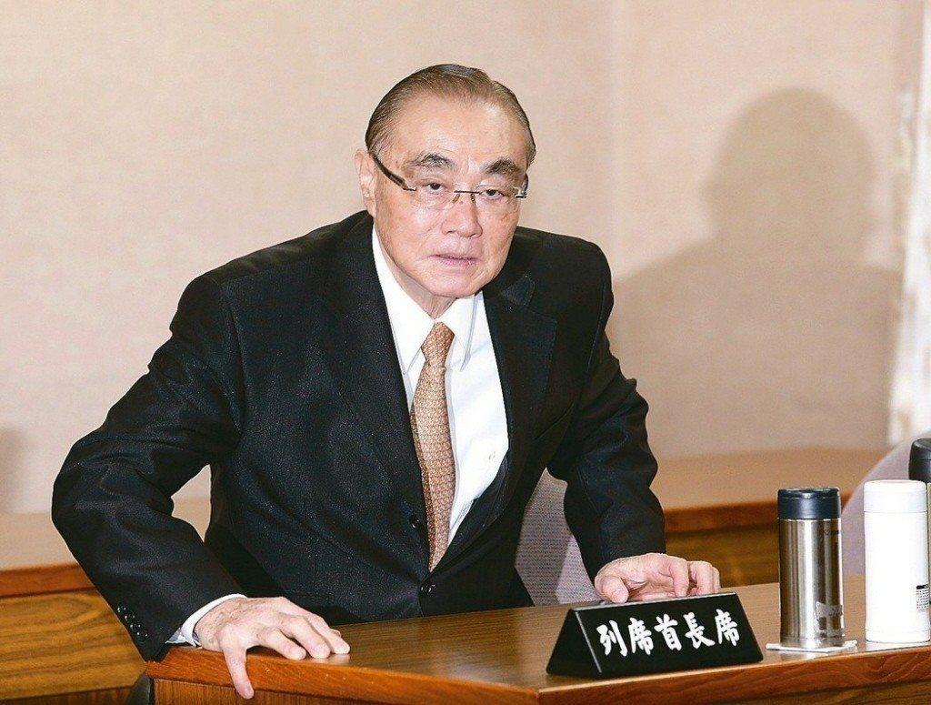 國防部前部長馮世寬。 圖/聯合報系資料照片
