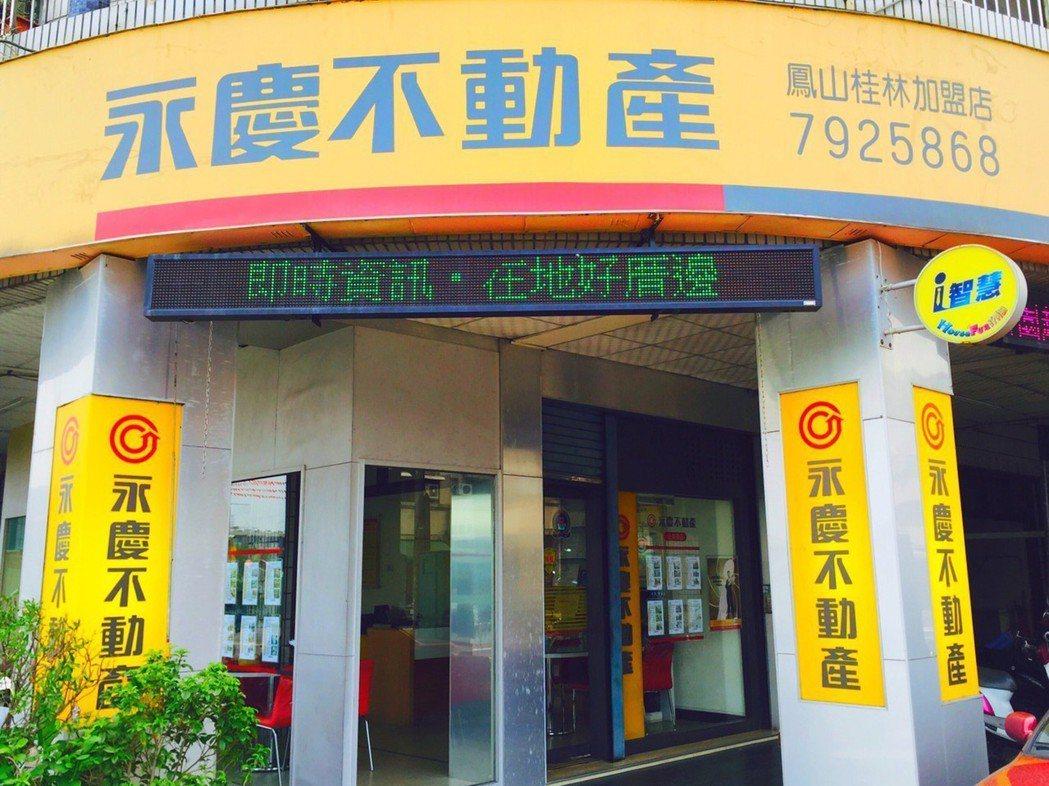 永慶房產集團積極在全台各地展店,擴大服務規模。 (網路照片)
