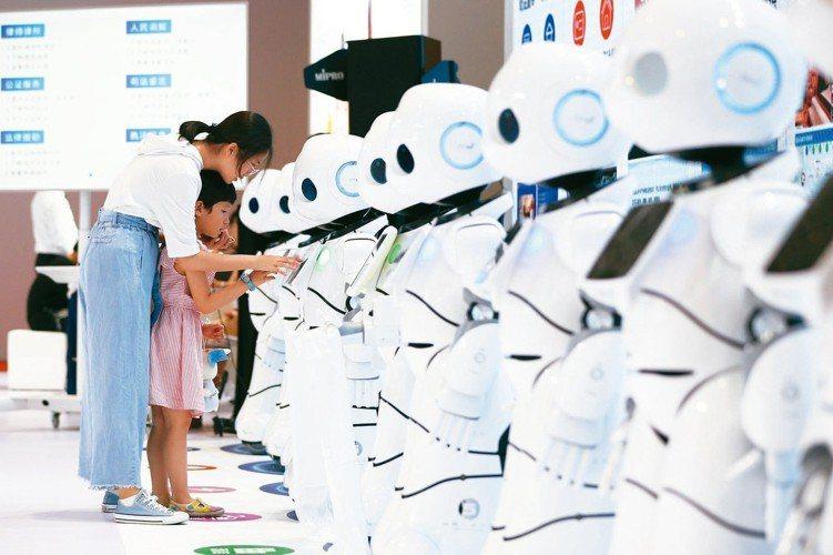 AI超級業務員,可望為電商帶來新一波的業績成長。 中新社