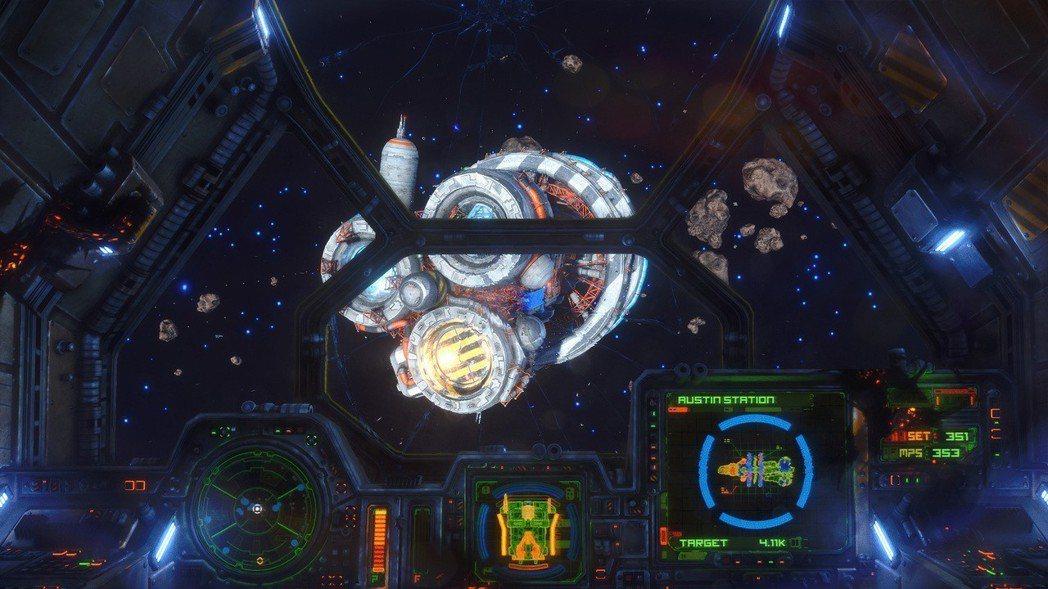 太空模擬遊戲《Rebel Galaxy Outlaw》