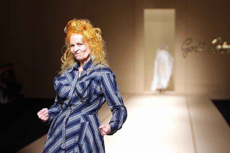 《WESTWOOD:龐克時尚教母》劇照。 圖/佳映娛樂提供