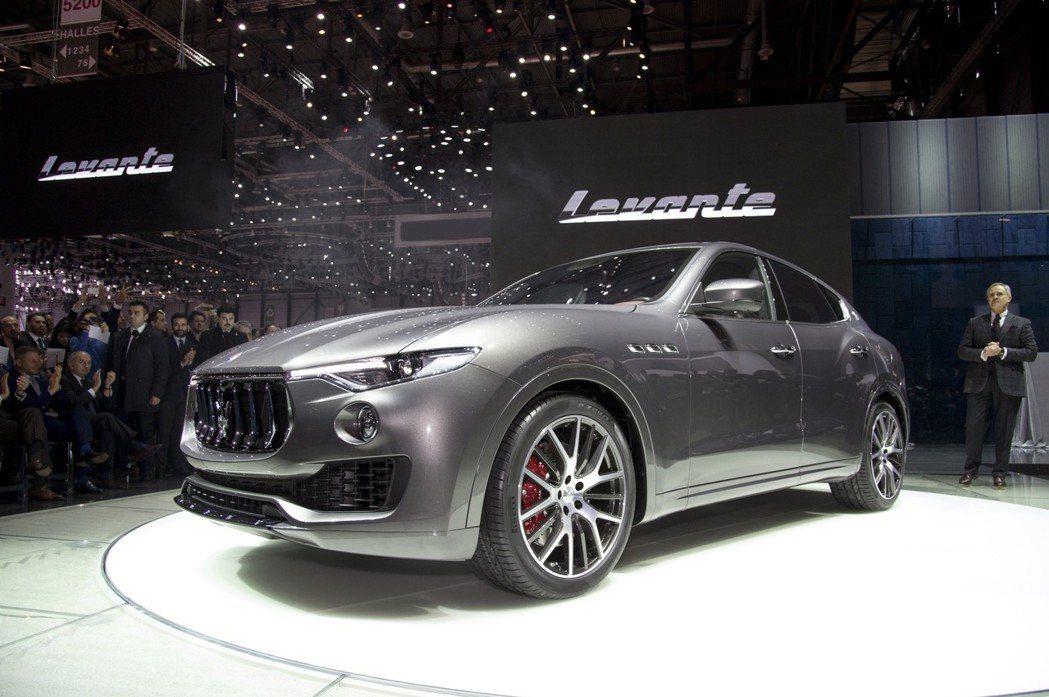 Maserati首款休旅Levante在2016年的日內瓦車展上正式發表。 摘自...