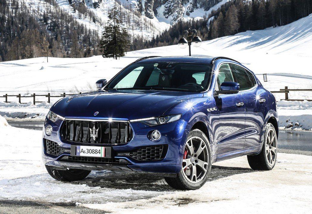 Maserati Levante今年的銷售表現很不理想。 摘自Maserati