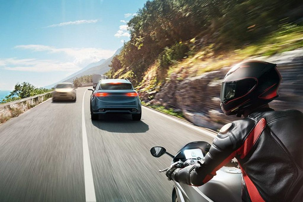 隨著全球各市場對二輪機車的安全重視,身為全球機車密度最高的台灣,本來就要先將ABS或CBS輔助系統納入配備中。 圖/Bosch提供