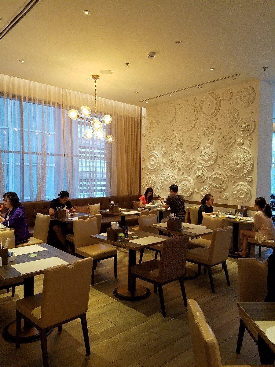 用餐空間的裝飾,令人感覺相當典雅而舒適 圖文來自於:TripPlus