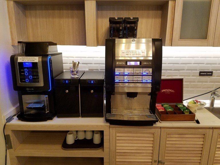 熱飲區,包含咖啡/茶包 圖文來自於:TripPlus