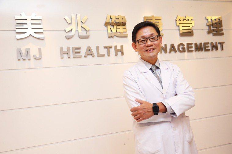 美兆健康管理機構總院長朱大維指出,累積健檢資料,可利用大數據資料庫,從些微數字變...