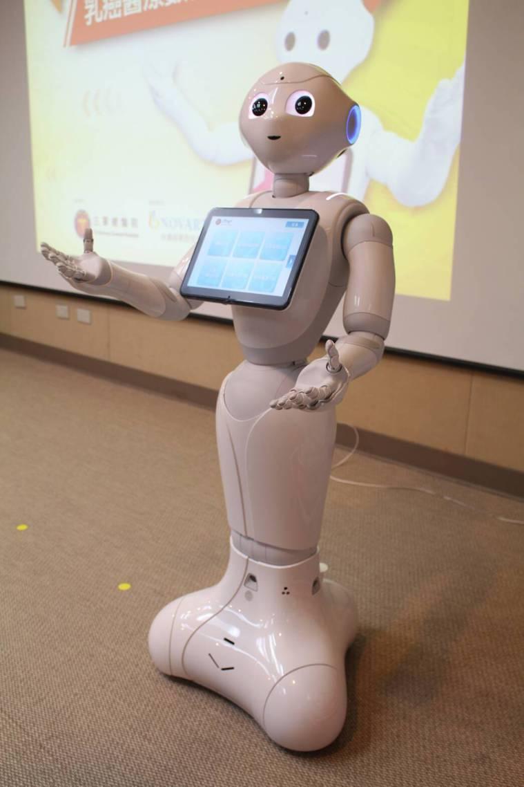 衛教機器人可彌補衛教人力缺口,目前機器人可傳遞衛教知識、復健示範與陪同,及告知醫...