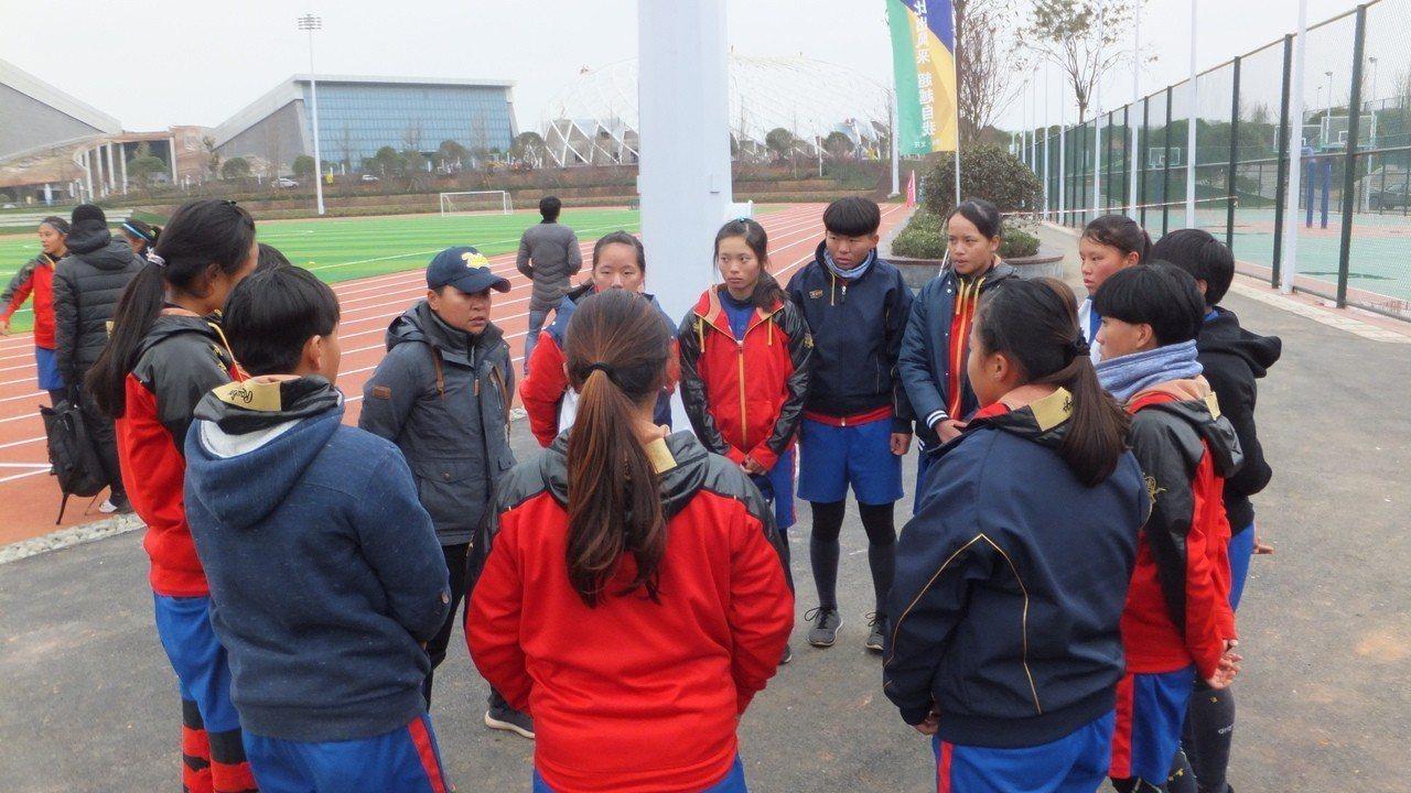 北士商擊敗遼寧隊,在海峽盃女壘賽單日兩勝。記者藍宗標/攝影