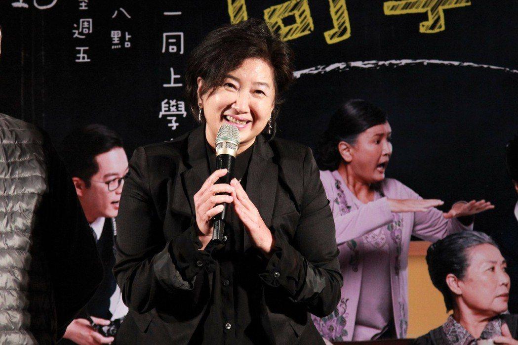 蘇明明復出演師姊。圖/大愛台提供