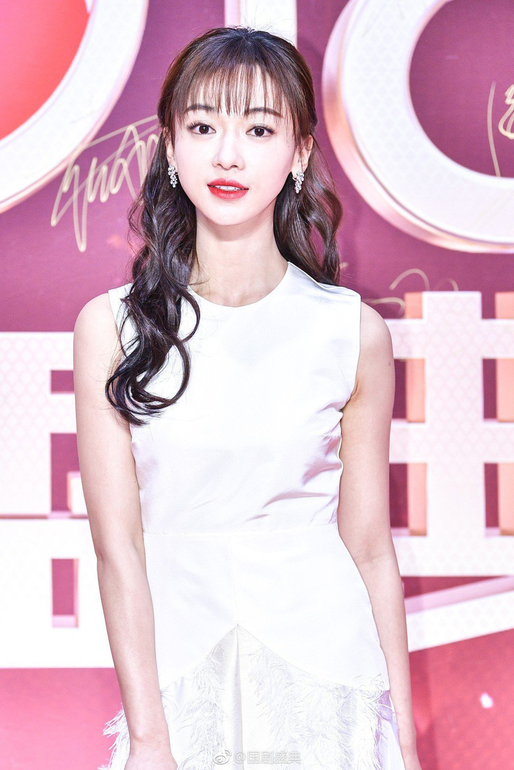 吳謹言出席國劇盛典。圖/摘自微博