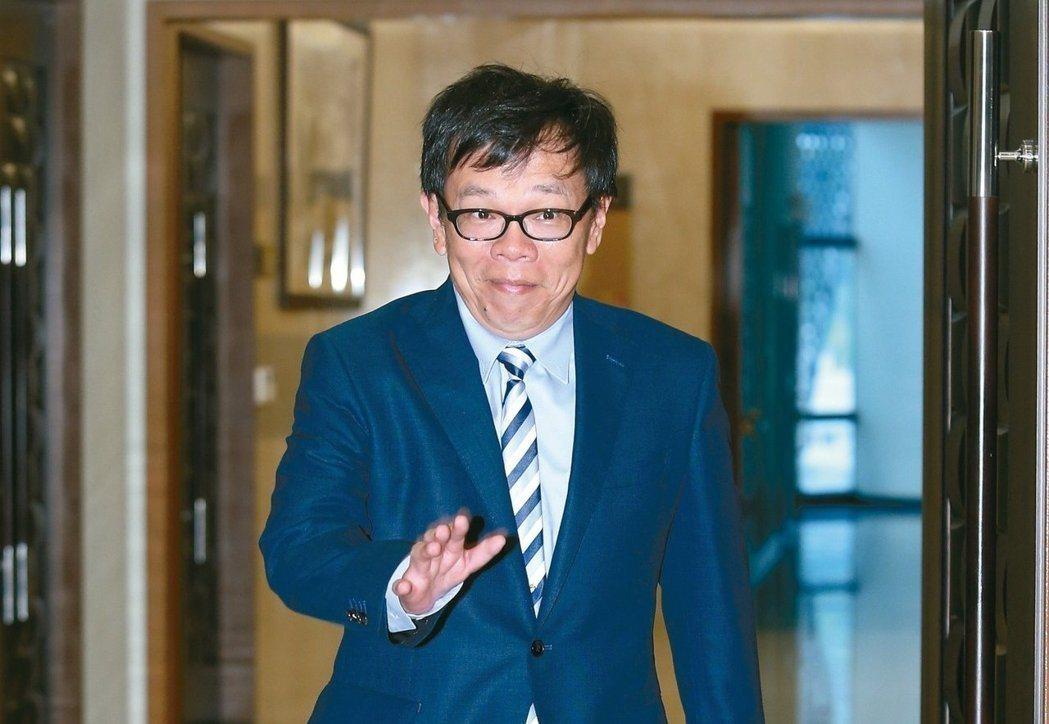 姚人多宣布退出蔡英文幕僚群組,不再負責總統文稿。 圖/聯合報系資料照片
